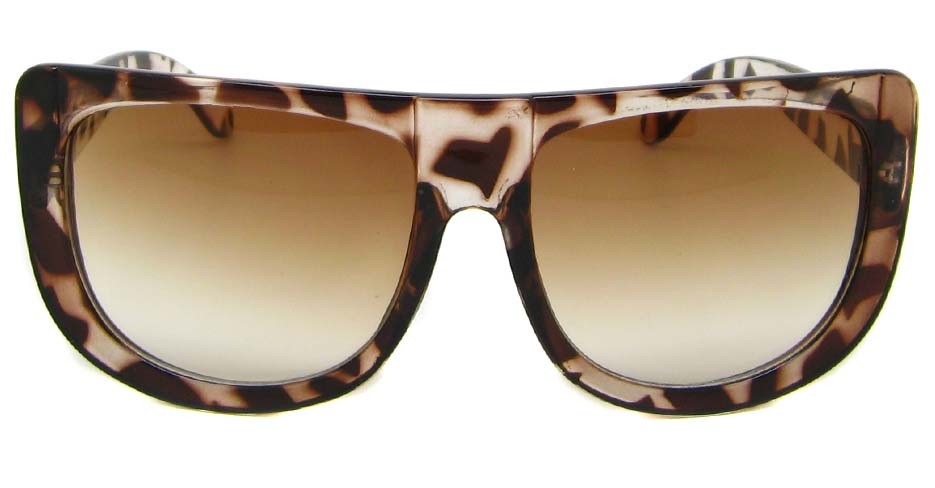 Tortoise oval acetate big  retro glasses  LF-FG004-GWS