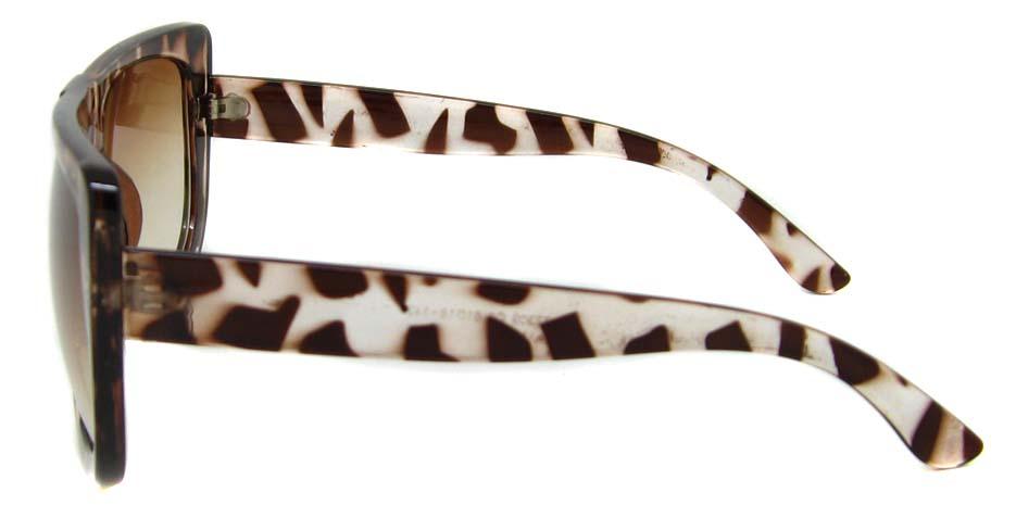 Tortoise oval acetate big  retro glasses  LF-FG004-GWS