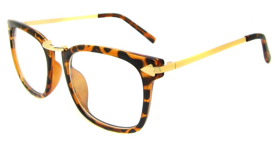 Tortoise with gold retro blend frame YM-OF5018-C2