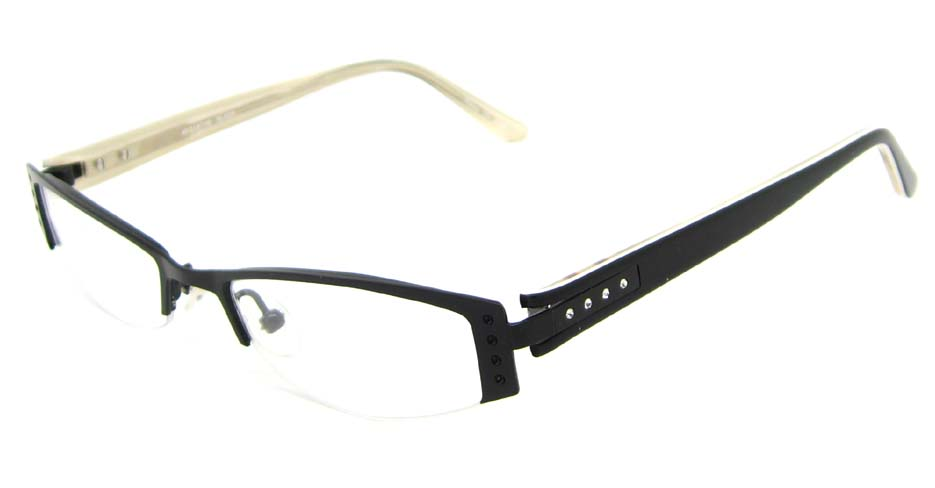 black  cat eye blend  glasses frame HL-797302
