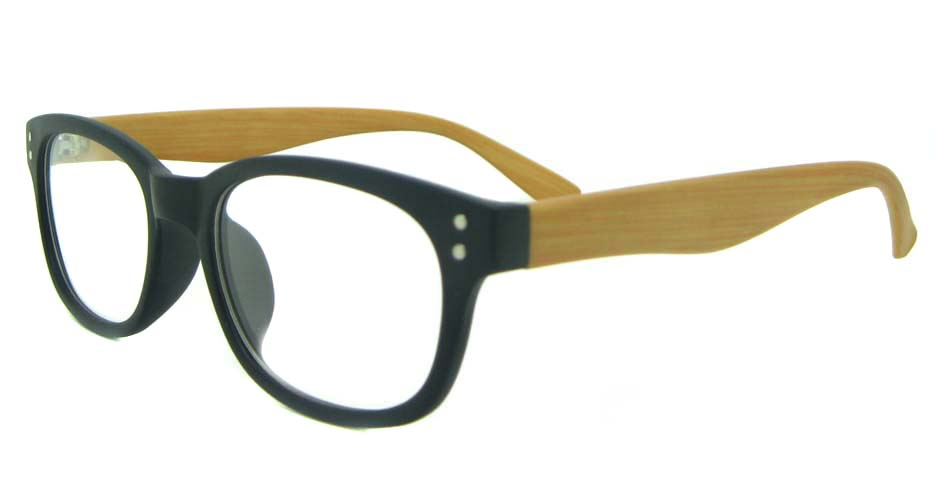 black  oval TR  glasses frame  YL-KLD8073-C3
