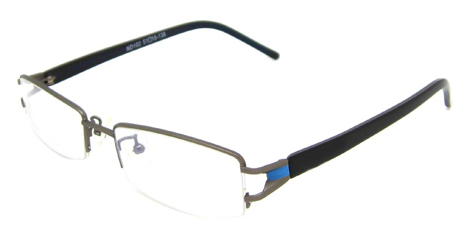 black  rectangular blend  glasses frame  HL-MD102