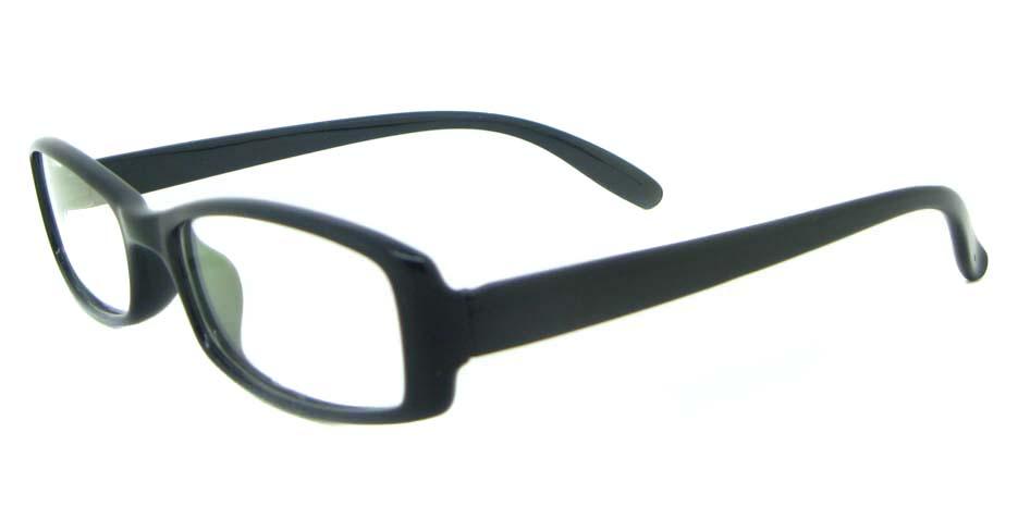 black Acetate Rectangular glasses frame YL-KLD8017-C1