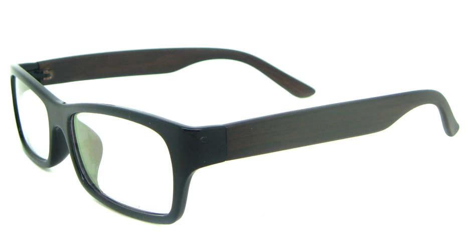 black Rectangular tr90 glasses frame YL-KDL8049-C6