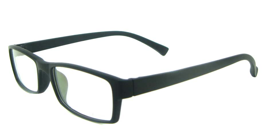black Rectangular tr90 glasses frame YL-KLD8001-C2