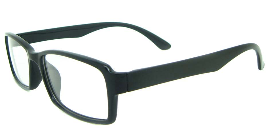 black Rectangular tr90 glasses frame YL-KLD8014-C1