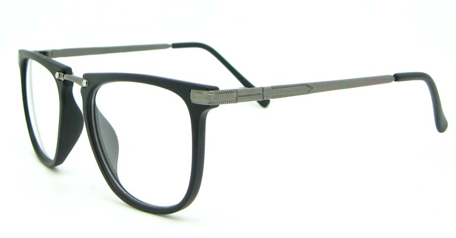 black Wayfarer blend glasses frame WLH-5025-MS