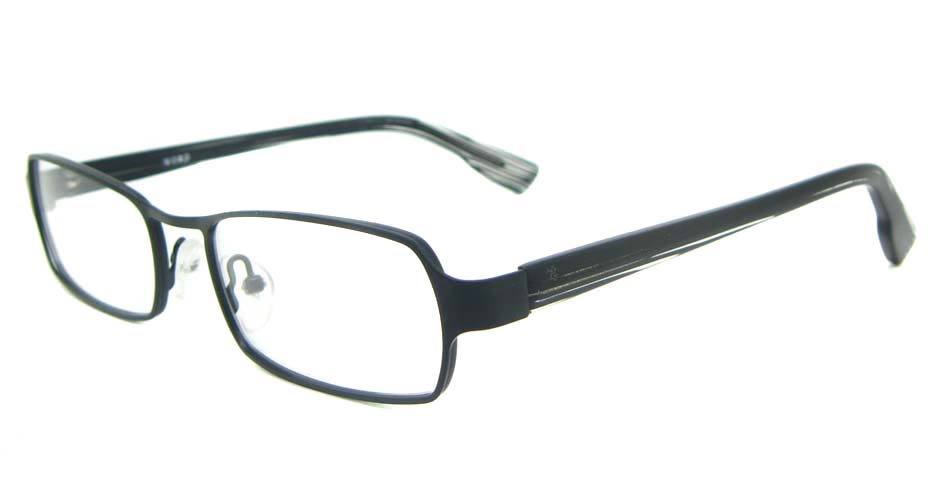black blend  rectangular glasses frame YL-WORD1332-C4
