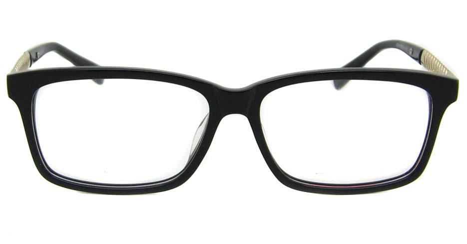 black blend Rectangular  glasses frame TD-MDL2215-C6