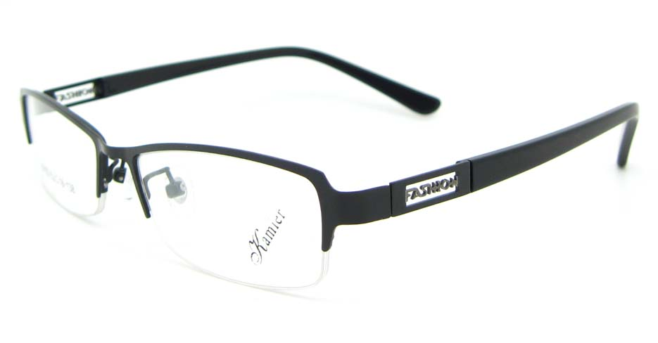 black blend Rectangular glasses frame WKY-KM22122-HS