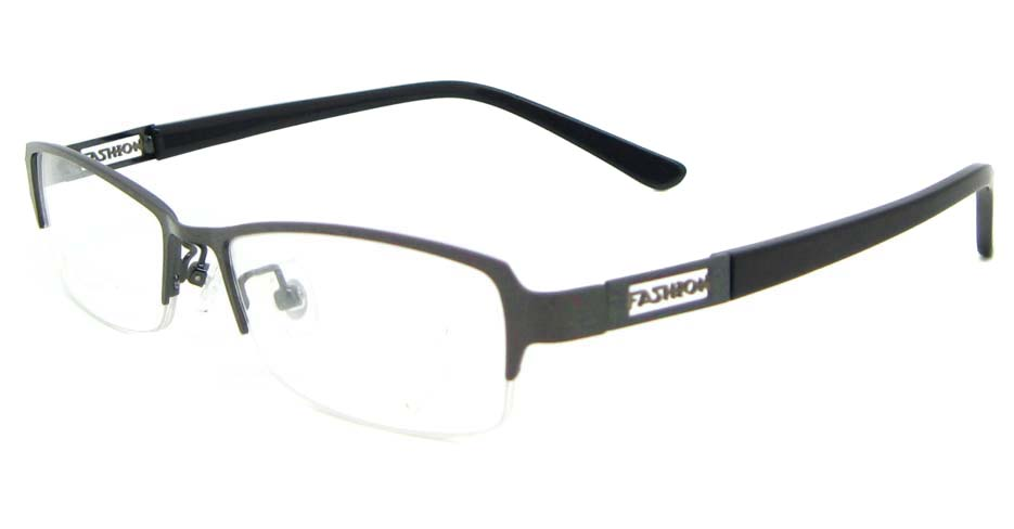 black blend Rectangular glasses frame WKY-KM22122-Q