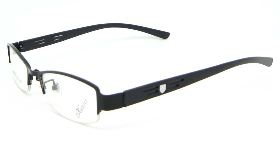 black blend Rectangular glasses frame WKY-KM8886-HS