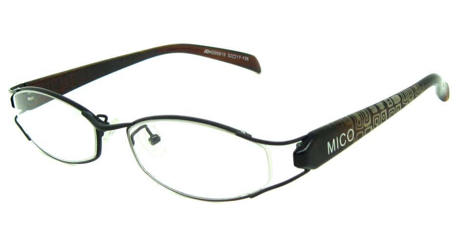 black blend cat eye glasses frame JS-JDH200819-c4