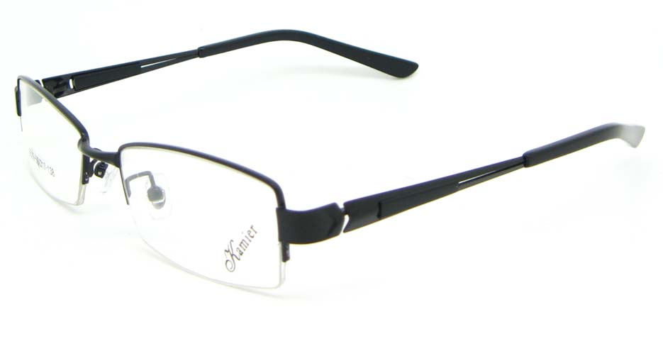 black blend rectangular  glasses frame WKY-KM5529-HS