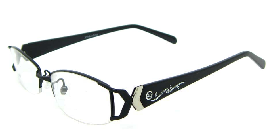 black blend rectangular glasses frame WKY-XDBL6867-HS