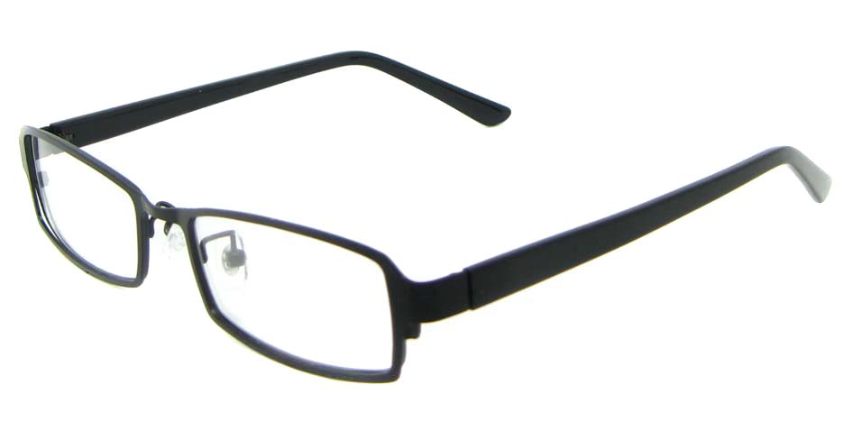 black blend rectangular glasses frame WKY-XDBL6892-HS