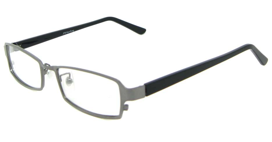 black blend rectangular glasses frame WKY-XDBL6892-Q