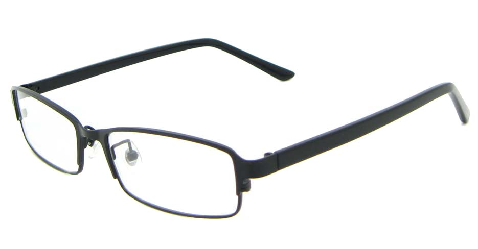 black blend rectangular glasses frame WKY-XDBL6936-HS