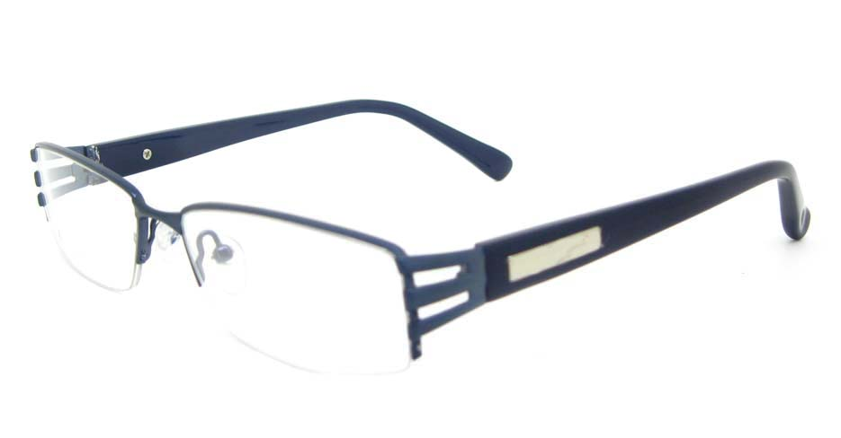 black blend rectangular glasses frame YL-WORD1306-C17