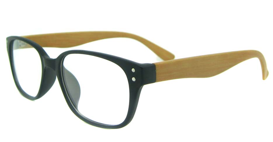 black oval TR glasses frame YL-KLD8072-C4