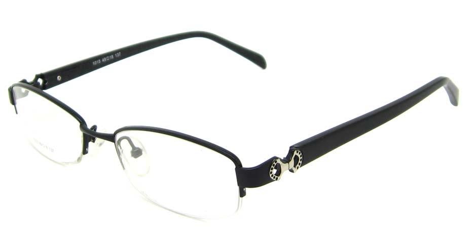 bblack oval blend glasses frame  HL-1015