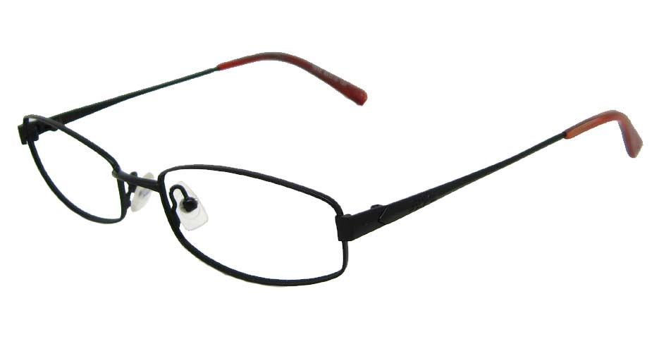 black oval metal glasses frame  HL-1015