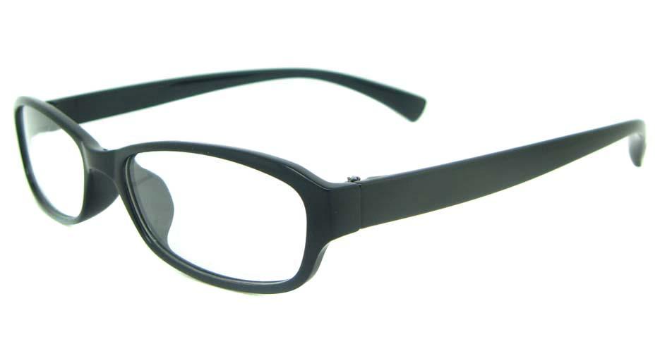 black oval tr90 glasses frame YL-KDL8030-C1