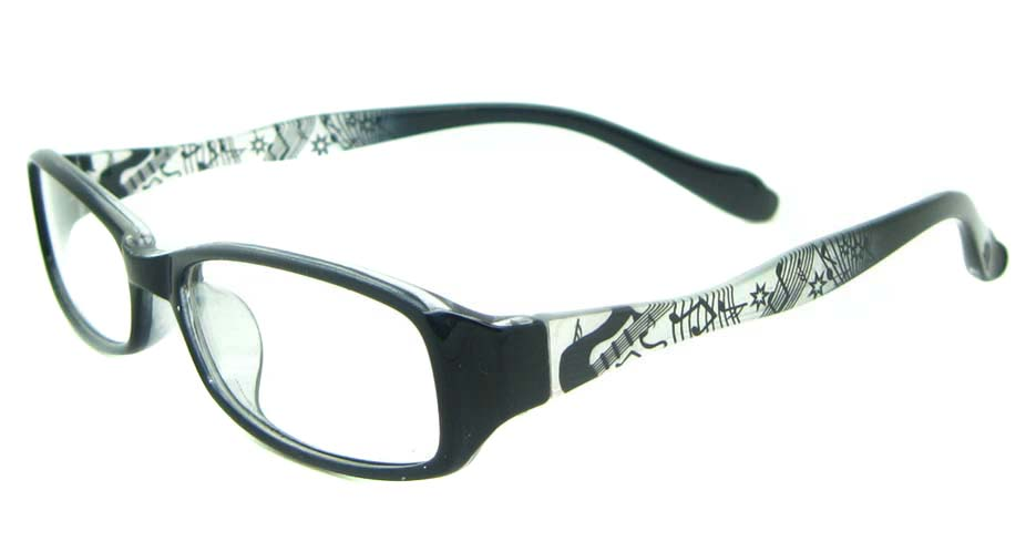 black oval tr90 glasses frame YL-KLD8024-C6