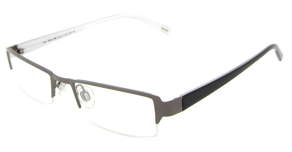 black rectangle blend  glasses frame  HL-KLK219-376