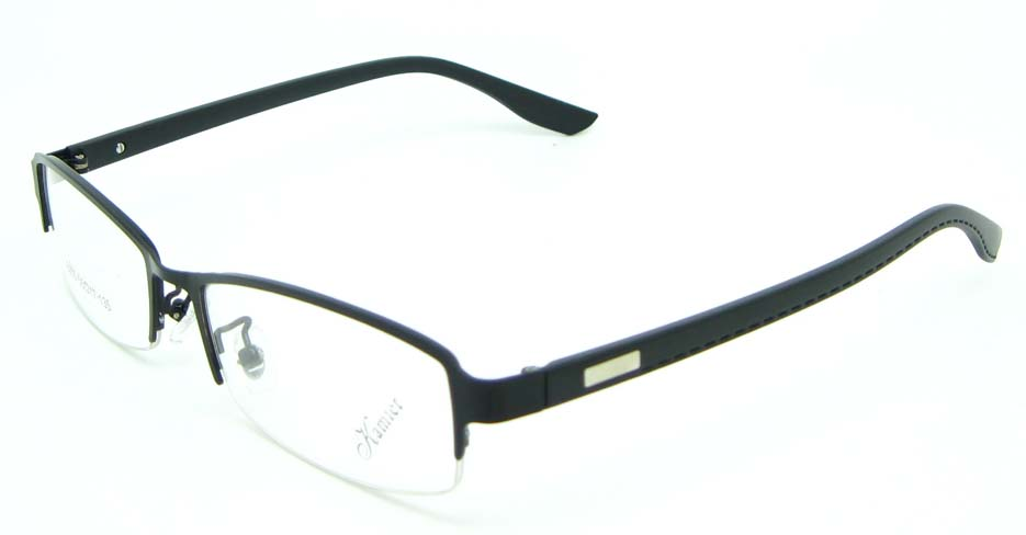 black rectangular blend glasses frame JNY-KM8855-HS