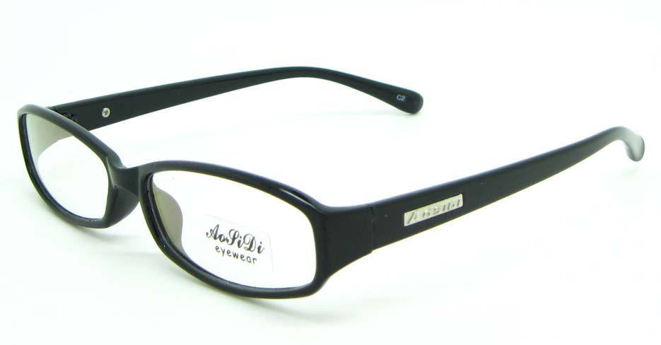 black tr90 Rectangular glasses frame JNY-ASD2158-C2