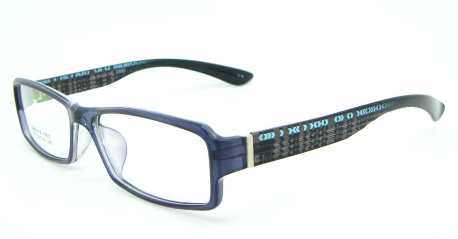 black tr90 Rectangular glasses frame JNY-MJN159-C10