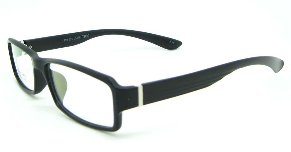 black tr90 Rectangular glasses frame JNY-MJN159-C12