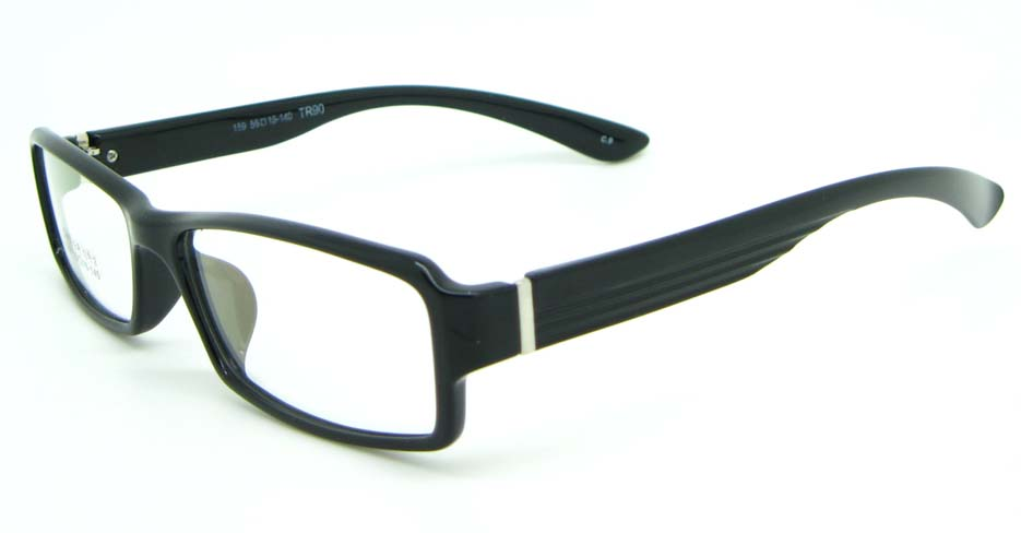 black tr90 Rectangular glasses frame JNY-MJN159-C9