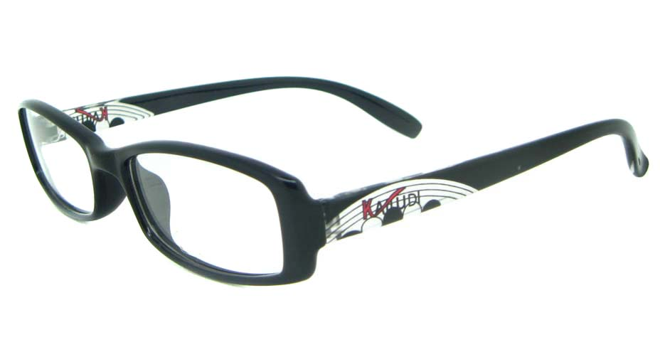 black tr90 Rectangular glasses frame YL-KLD8017-C6