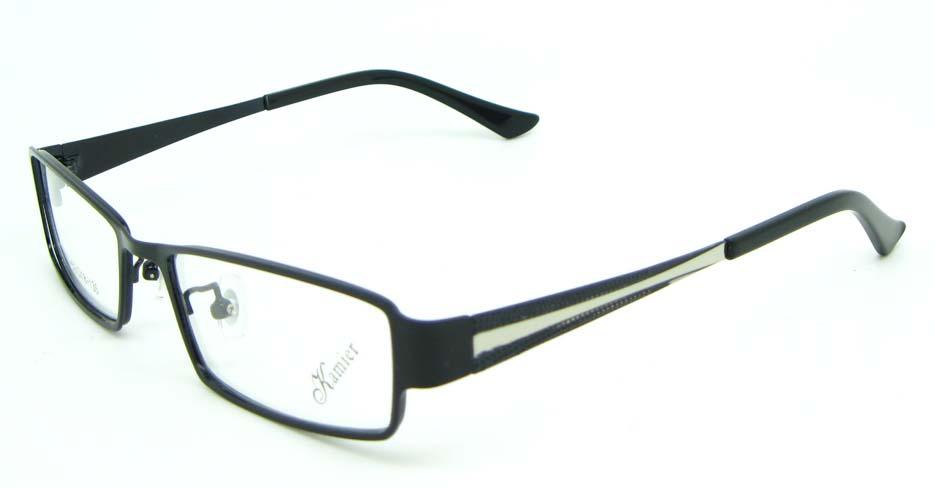 black tr90 oval glasses frame JNY-KM8885-HS