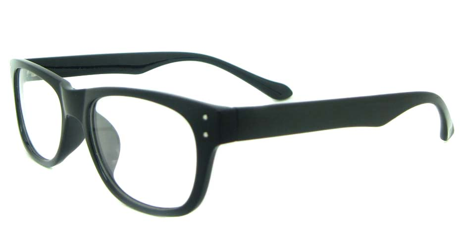 black tr90 oval glasses frame YL-KDL8051-C1