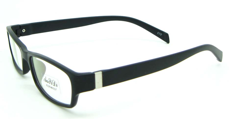 black tr90 rectangular glasses frame JNY-ASD2155-C12