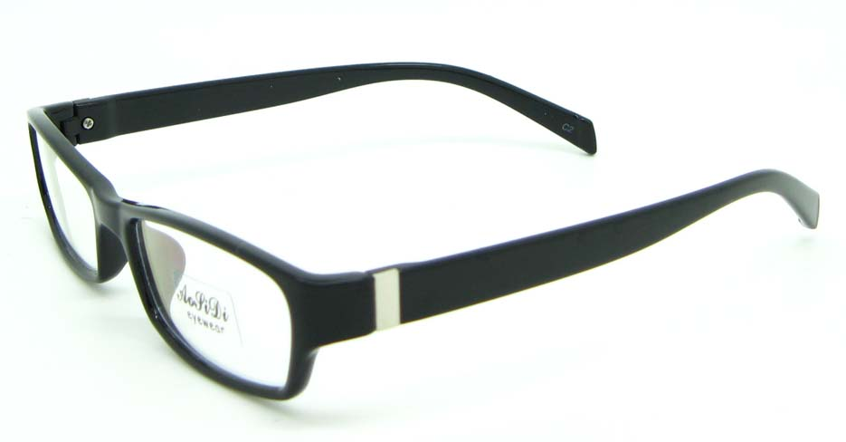 black tr90 rectangular glasses frame JNY-ASD2155-C2