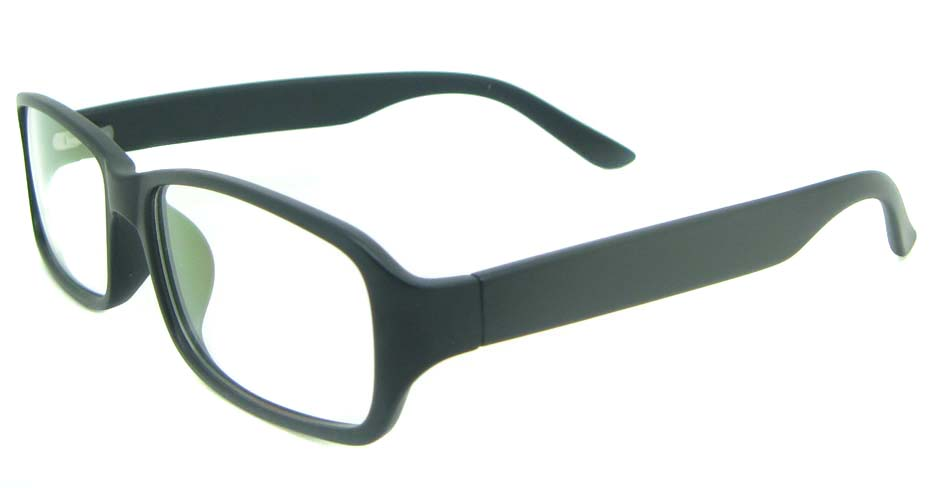 black tr90 rectangular glasses frame YL-KDL8048-C2