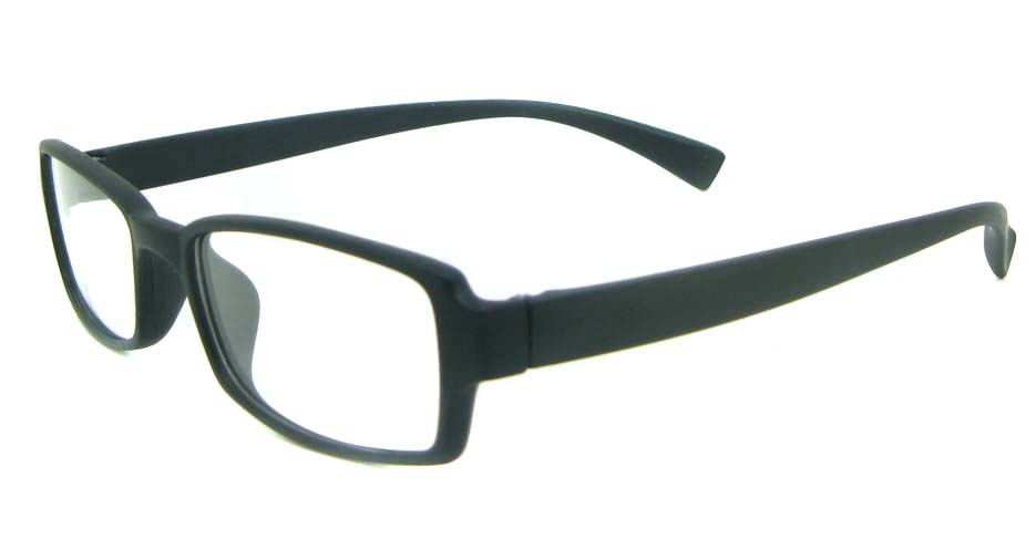 black tr90 rectangular glasses frame YL-KLD8005-C2