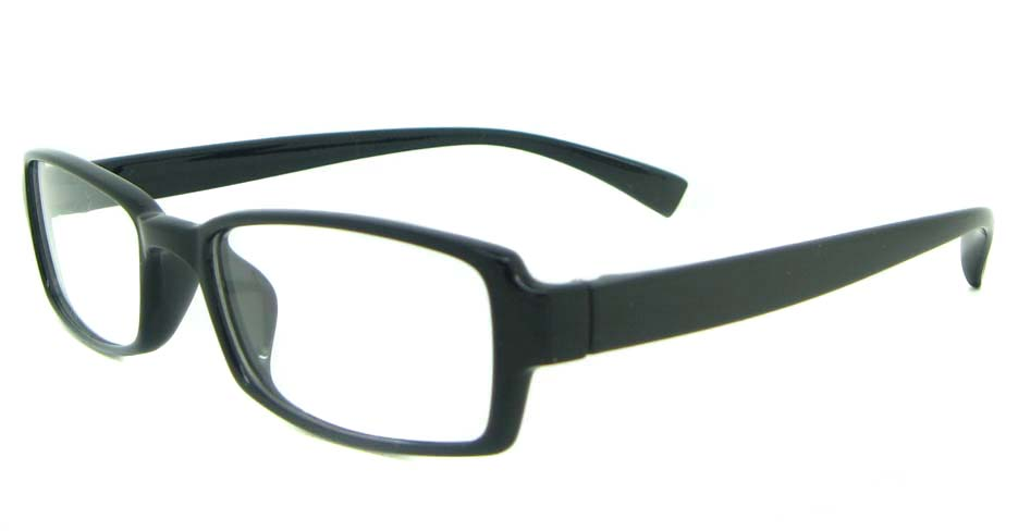 black tr90 rectangular glasses frame YL-KLD8005-C5