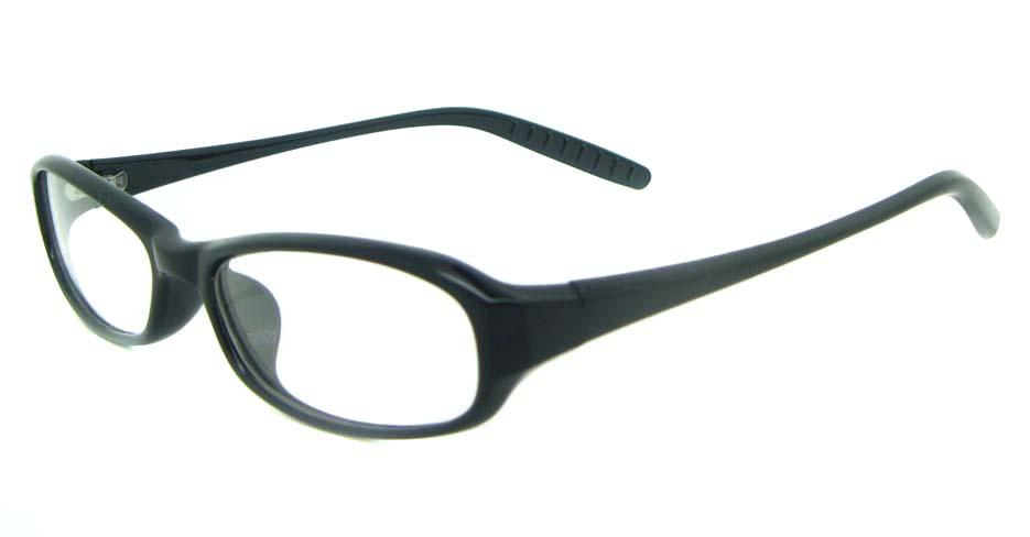 black tr90 rectangular glasses frame YL-KLD8022-C1