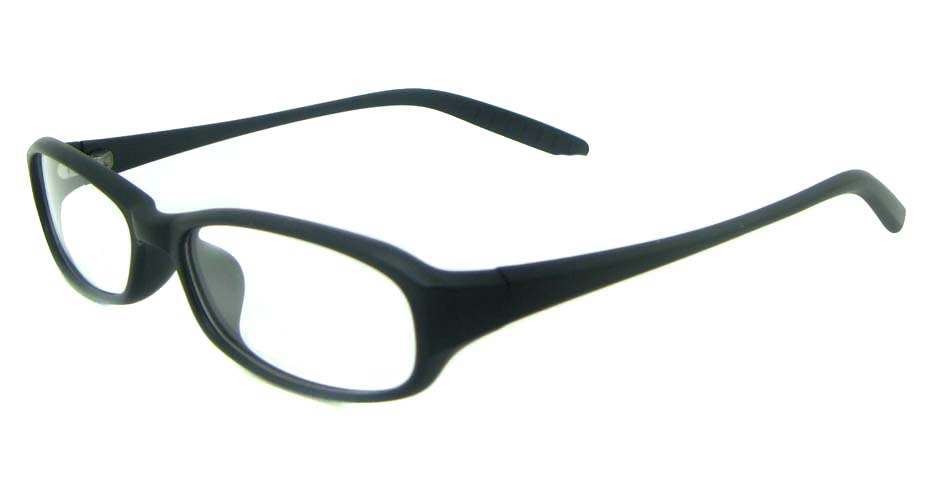 black tr90 rectangular glasses frame YL-KLD8022-C2