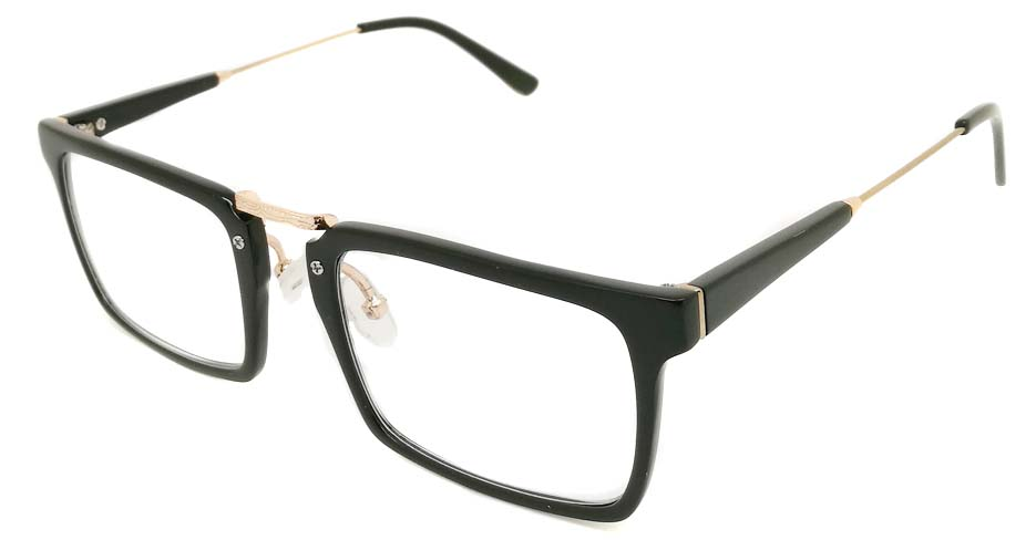 black vintage glasses