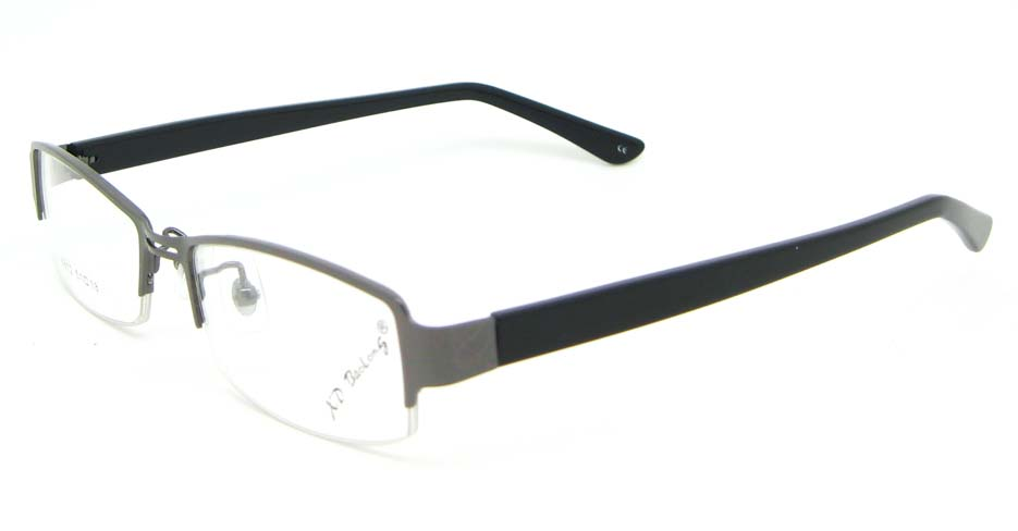black with tea blend rectangular glasses frame  WKY-XDBL6812-Q