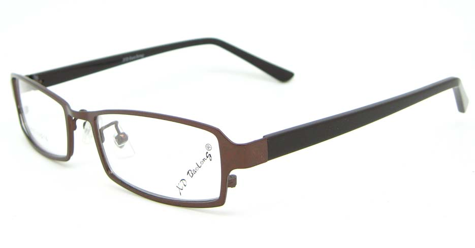 black with tea blend rectangular glasses frame WKY-XDBL6892-ZS