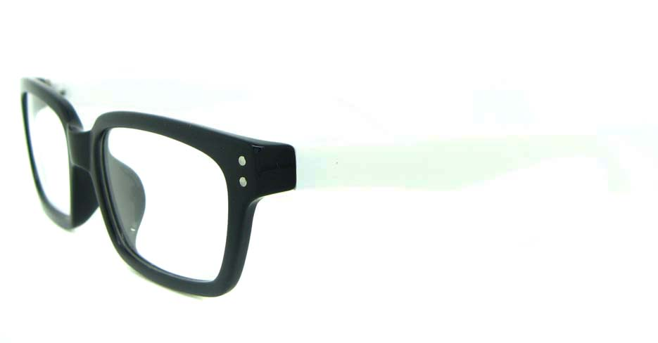black with white  rectangular TR  frame YL-KLD8075-C2
