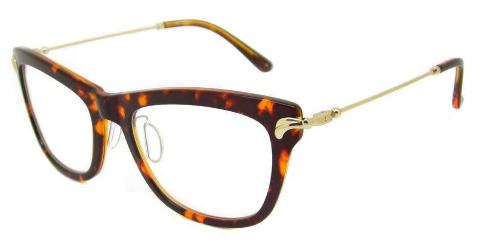 Tortoise blend oval  glasses frame TD-MDL2222-C5