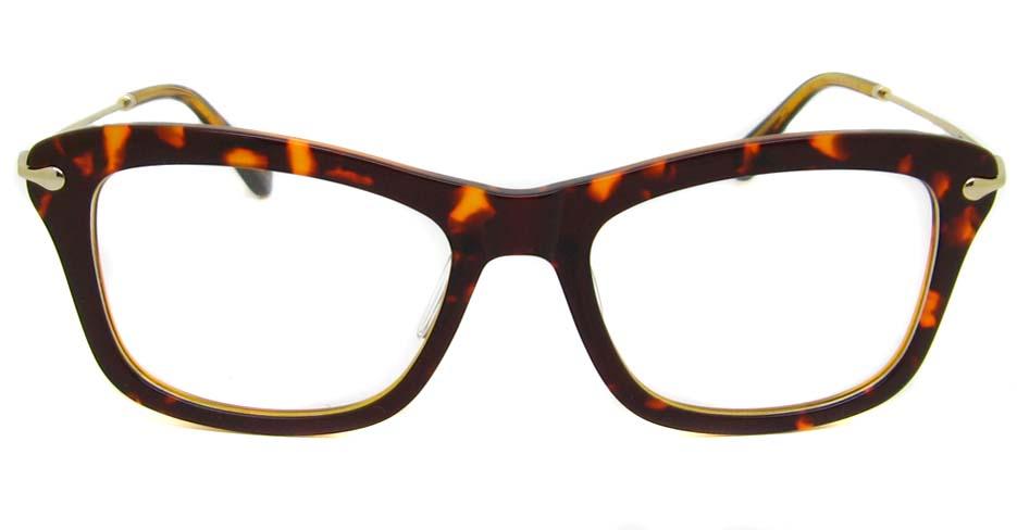 Tortoise blend oval  glasses frame TD-MDL2223-C5